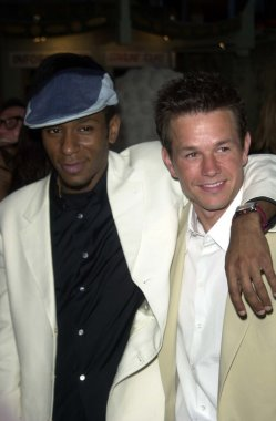 Mos Def and Mark Wahlberg