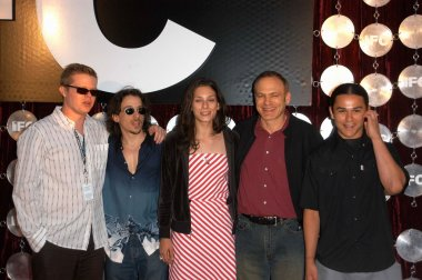 Elden Henson, Michael McCall, Sarah Rivas, Jordan Melamed and Cody Lightning
