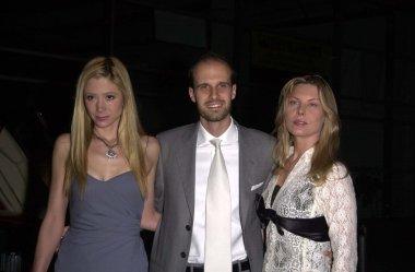Mira Sorvino, Edoardo Ponti and Deborah Kara Unger