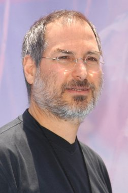 Steve Jobs at the premiere of Disney's
