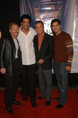 Danny Bonaduce, Dorian Gregory, Dock Clark and Mario Lopez
