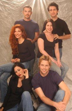Jenna Mattison, Brian Austin Green, Brad Rowe and Jennifer Blanc, Ronnie Marmo and Victoria Rocchi