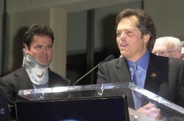 Donny Osmond and Jimmy Osmond