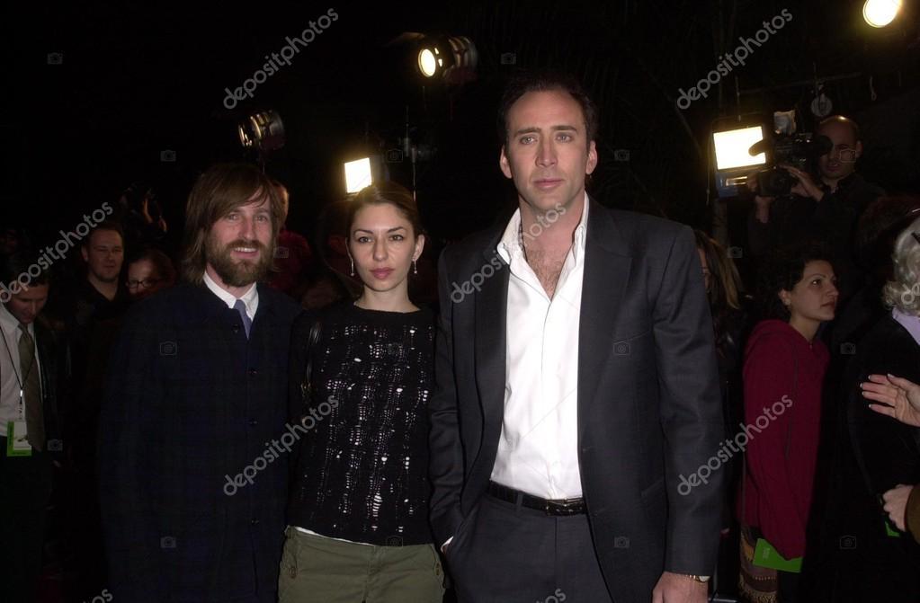 Sofia Coppola and Nicolas Cage – Stock Editorial Photo © s_bukley