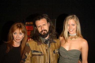 Cassandra Peterson, Rob Zombie and Sheri Moon