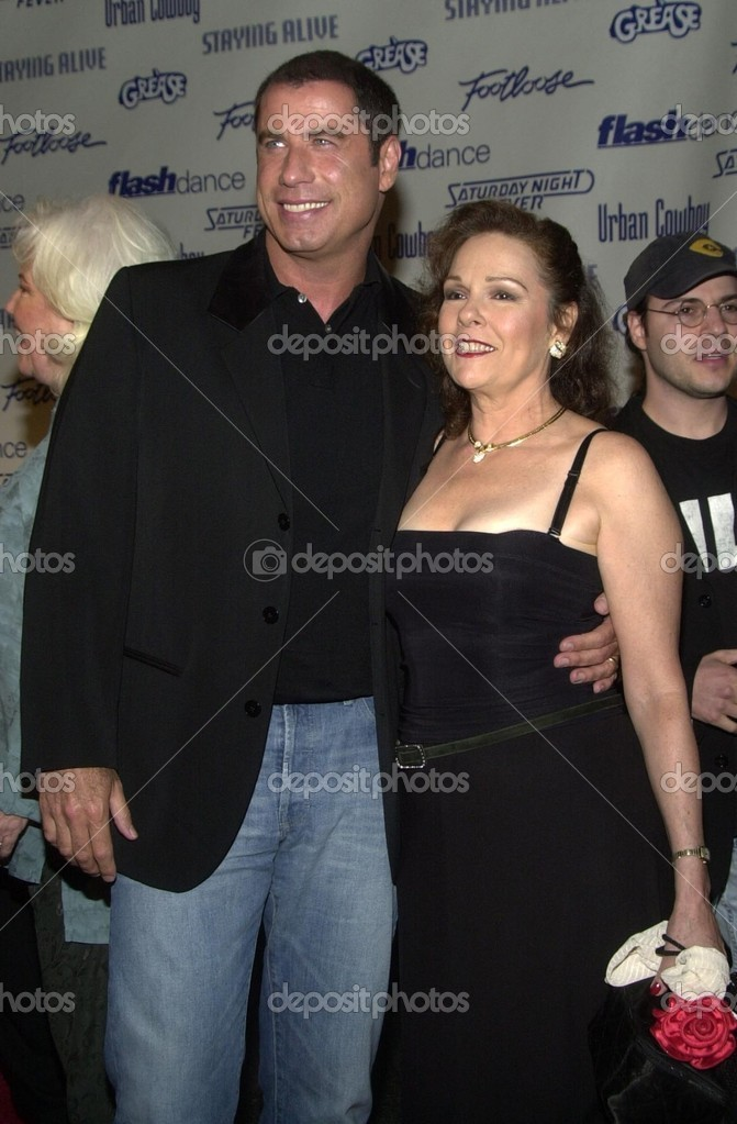 John Travolta and Karen Lynn Gorney – Stock Editorial Photo