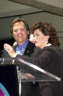 Jimmy Osmond and Marie Osmond
