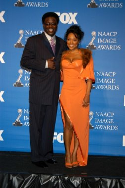 Bernie Mac and Kellita Smith