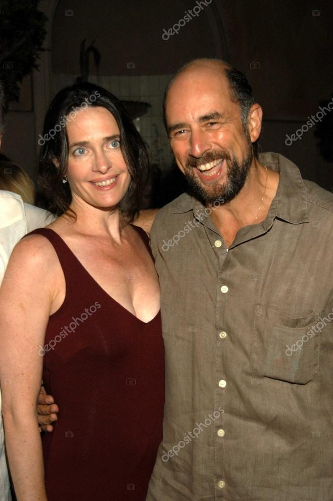 Sheila Kelley and husband Richard Schiff – Stock Editorial Photo ...