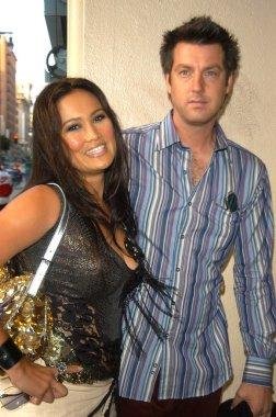Tia Carrere and husband Simon