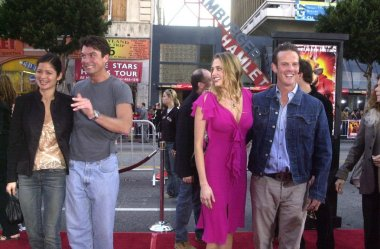 Jill Hennessey, Jerry O'Connell, Estella Warren and Peter Berg