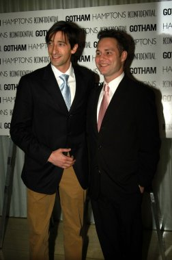 Adrien Brody and Jason Binn, L.A. Confidential publisher