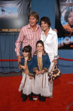 Bruce Jenner, wife Kris and daughters Kylie and Kendall