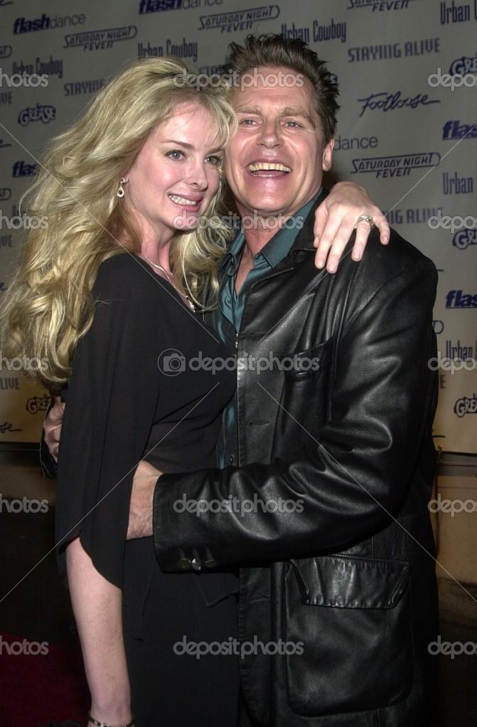 jeff conaway and wife kerri stock editorial photo s bukley 17781441