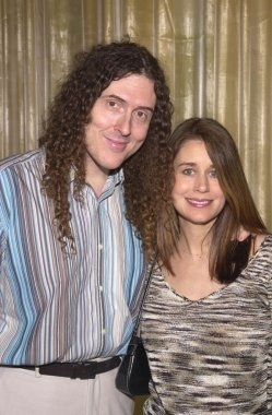 Weird Al Yankovic and wife Suzanne