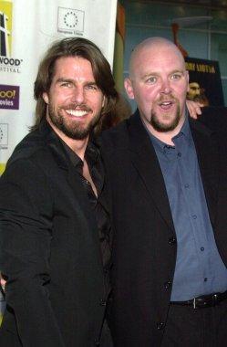 Producer Tom Cruise and director Joe Carnahan