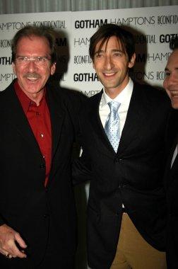 Pat O'Brien and Adrien Brody
