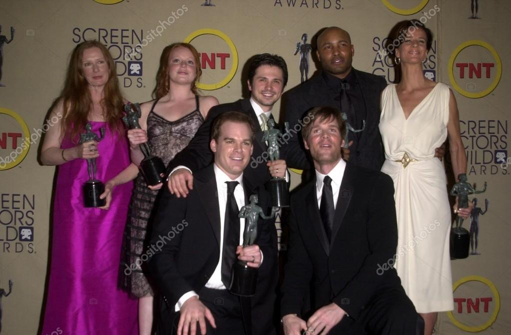 Cast Of Six Feet Under At The 9th Annual Screen Actors Guild Awards Press Room Shrine Auditorium Los Angeles Ca  P O By S_bukley