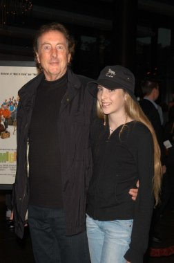 Eric Idle and daughter Lily