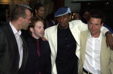 Jason Statham, Seth Green, Mos Def and Mark Wahlberg
