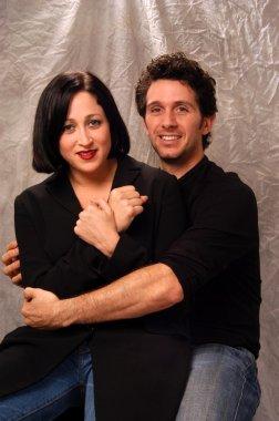 Jennifer Blanc and Ronnie Marmo