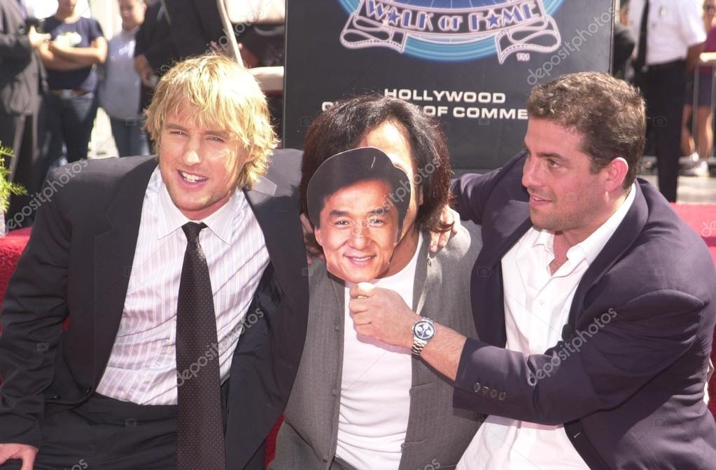 Owen Wilson Jackie Chan And Brett Ratner Stock Editorial Photo