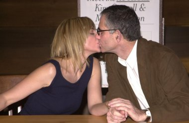 Kim Cattrall and husband Mark Levinson