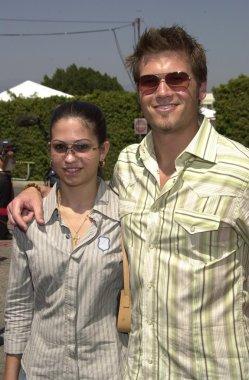 Nick Zano and siser Samantha