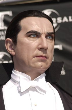 wax portraits of Dracula