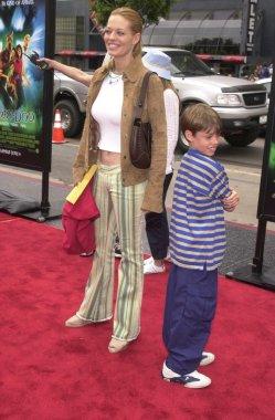 Jeri Ryan and son