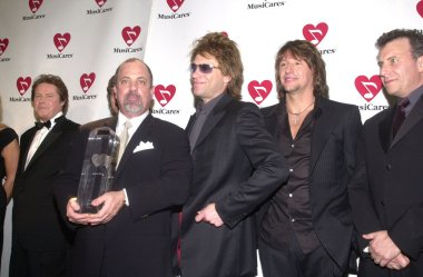 Don Henley, Billy Joel, Jon Bon Jovi, Richie Sambora and Paul Reiser