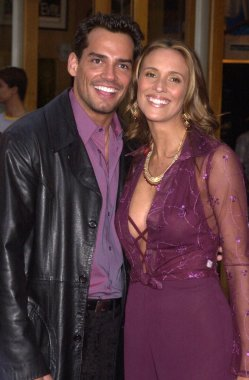 Cristian de la Fuente and wife Angelica Castro