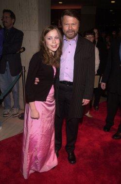 Bjorn Ulvaeus and daughter Anna