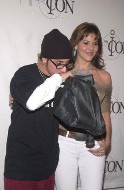 AJ Mclean with girlfriend Sarah Martin