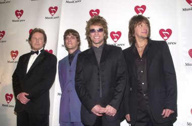 Don Henley, Rob Thomas, Jon Bon Jovi and Richie Sambora