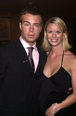 Joey Lawrence and Brooke Taylor