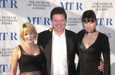 Renee O'Connor, Robert Tapert, Lucy Lawless