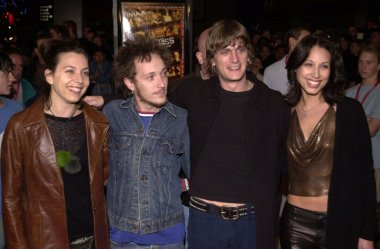 Moon Unit Zappa, Paul Doucette, Rob Thomas and wife