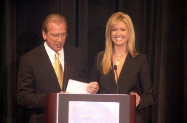 Pat O'Brien and Nancy O'Dell