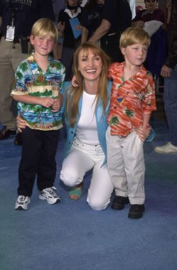 Jane Seymour and sons