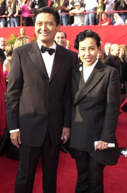 Chow Yun Fat and wife Jasmine