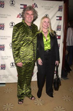 Billy Connolly and wife