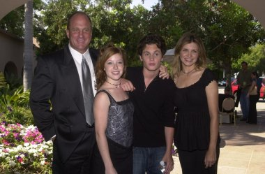Michael Milhoan, Angela Goethals, Penn Badgley and Gigi Rice