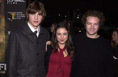 Ashton Kutcher, Mila Kunis and Danny Masterson