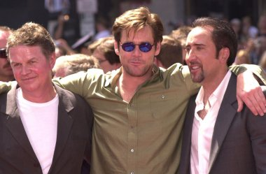 John Madden, Jim Carrey and Nicolas Cage