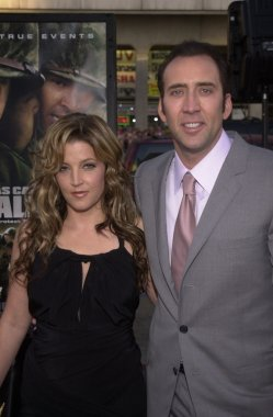 Lisa Marie Presley and Nicolas Cage
