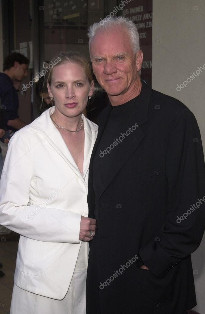 Malcolm McDowell and Kelley Kuhr – Stock Editorial Photo ...