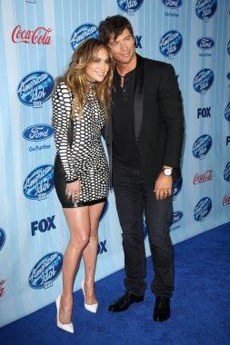 Jennifer Lopez and Harry Connick Jr