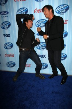Harry Connick Jr. and Keith Urban