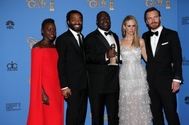 Steve McQueen, Lupita Nyongo, Chiwetel Ejiofor, Sarah Paulson, Michael Fassbender